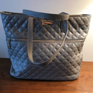 BCBG Quilted Tote